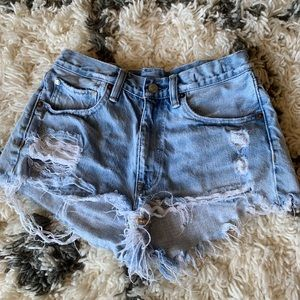 Ralph Lauren highwaisted shorts.